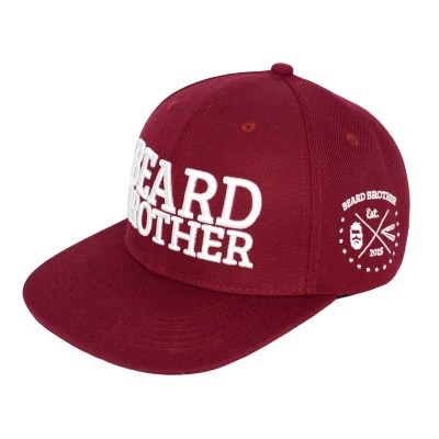 Beard Brother Snapback Red