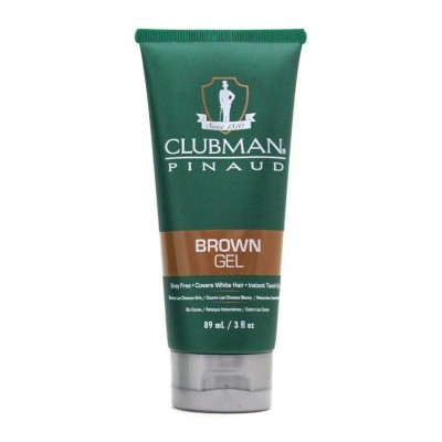 Clubman Pinaud Temporary Colour Gel Brown