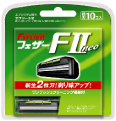 Feather FII Neo Rakblad 10-pack