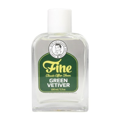 Mr Fine's Green Vetiver After Shave Splash