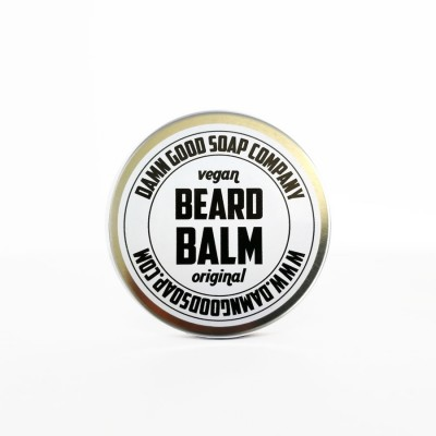 Damn Good Soap Company Vegan Beard Balm, Original
