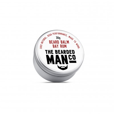 The Bearded Man Company Beard Balm Bay Rum 30 g