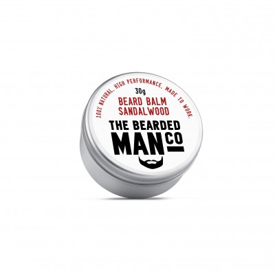 The Bearded Man Company Beard Balm Sandalwood 30 g