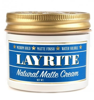 Layrite Natural Matte Cream Barber Size
