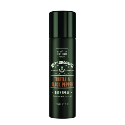The Scottish Fine Soaps Thistle & Black Pepper Body Spray