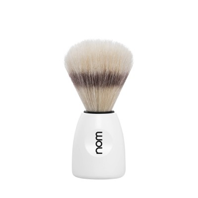 Mühle Nom Lasse Shaving Brush Natural Bristle, white