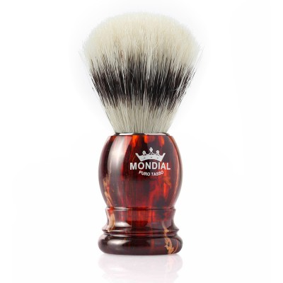 Mondial Basic Shaving Brush Pure Bristle, Tortoise Shell