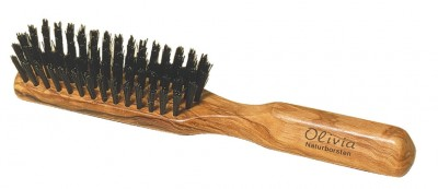 Hermod Beard Brush Olive Wood