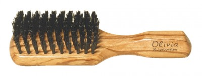 Hermod Beard Paddle Brush Olive Wood