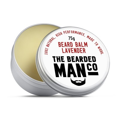 The Bearded Man Company Beard Balm Lavender