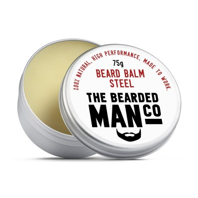 The Bearded Man Company Beard Balm Steel