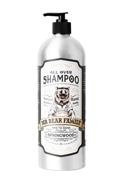 Mr Bear Family All Over Shampoo - Springwood 1000 ml
