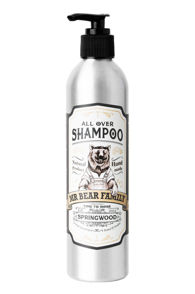 Mr Bear Family All Over Shampoo - Springwood 250 ml