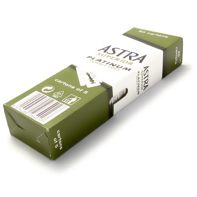 Astra Superior Platinum DE-blad 100-pack