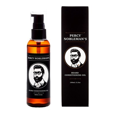 Percy Nobleman Beard Conditioning Oil Unscented