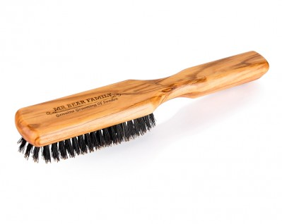 Mr Bear Beard Olive Brush