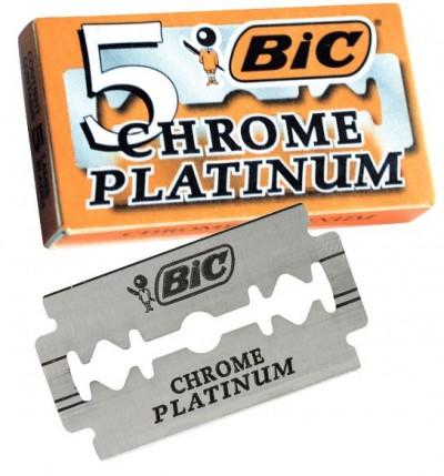 BIC Chrome Platinum Double Edge Razor Blades