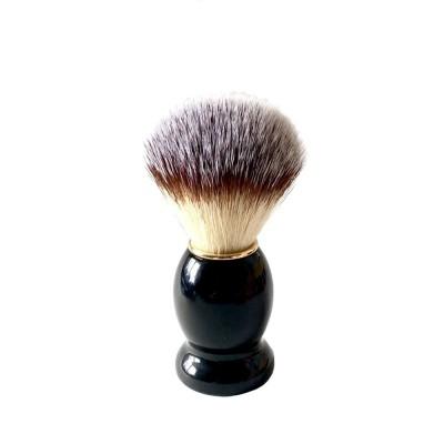 Kaliflower Organics Vegan Shaving Brush Black Birsch