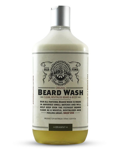 The Bearded Chap Original Beard Wash Brawny
