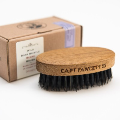 Captain Fawcett Wild Boar Bristle Beard Brush
