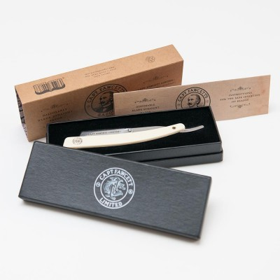 Captain Fawcett Disposable Blade Straight Razor