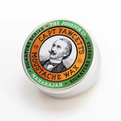 Captain Fawcett Beard Moustache Wax Maharajah