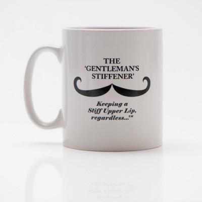 Captain Fawcett Moustache Wax Mug