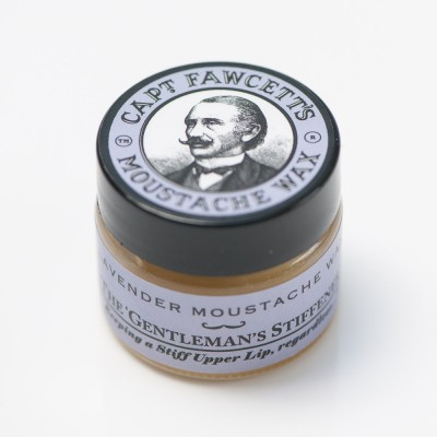 Captain Fawcett Moustache Wax Lavender