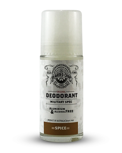 The Bearded Chap Military Spec Deodorant Spice