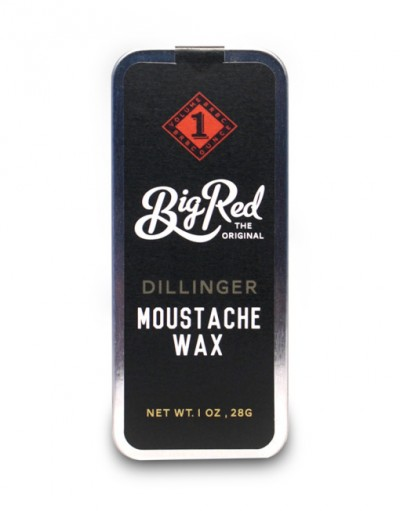 Big Red Moustache Wax - Dillinger 30 ml