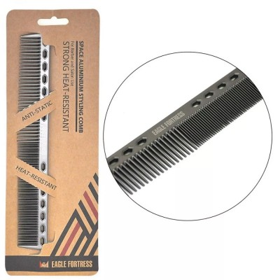 Eagle Fortress Aluminium Comb Black