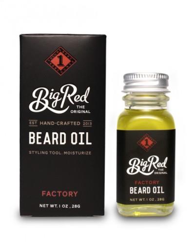 Big Red Beard Oil - Factory 30 ml