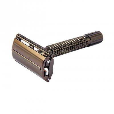 Giesen & Forsthoff Butterfly Safety Razor Black Gun