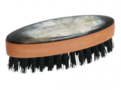 Hermod Beard Brush Small Horn Decor