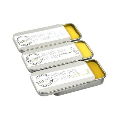 Kaliflower Organics Lip Balm Tin Natural