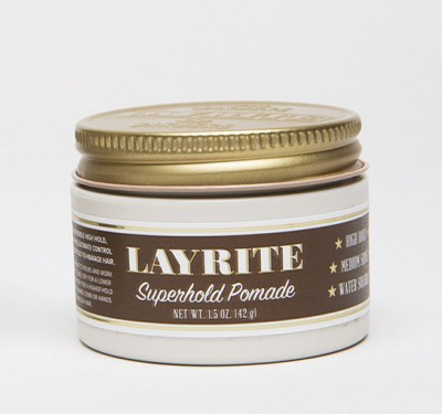 Layrite Superhold Pomade travel