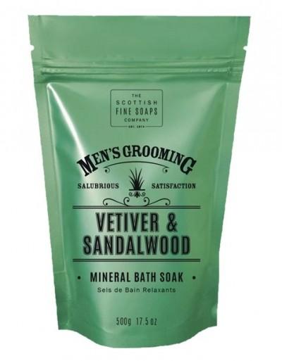 The Scottish Fine Soaps Vetiver & Sandalwood Bath Soak