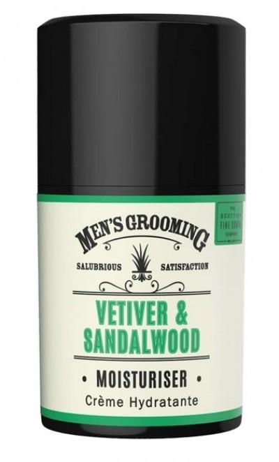 The Scottish Fine Soaps Vetiver & Sandalwood Moisturiser