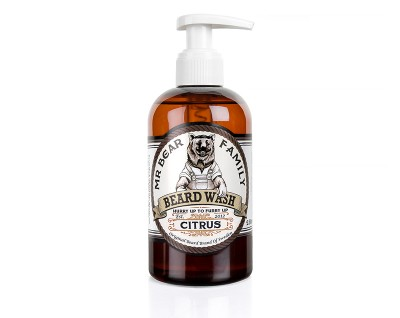 Mr Bear Beard Wash Citrus
