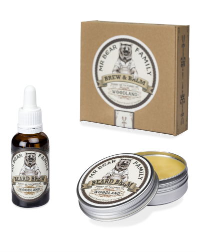 Mr Bear Brew & Balm Kit Woodland
