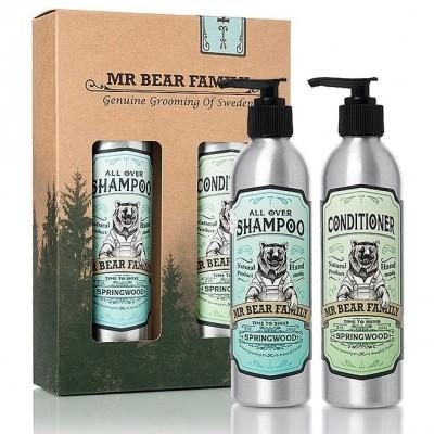 Mr Bear Family Kit Shampoo & Conditioner