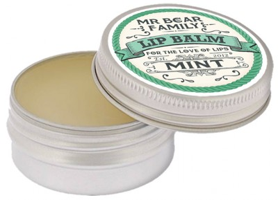 Mr Bear Lip Balm Mint