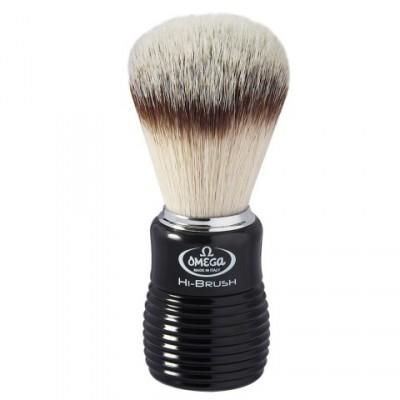 Omega Hi-Brush Fiber Shaving Brush