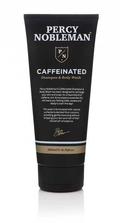 Percy Nobleman Caffeinated Shampoo & Body Wash