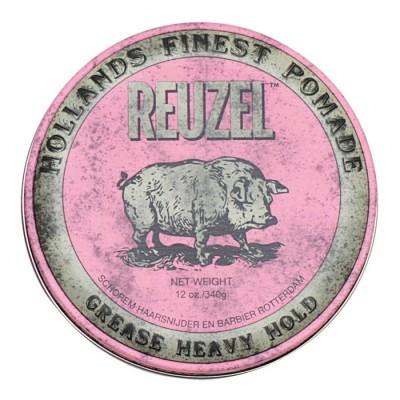 Reuzel Grease Heavy Hold Pink Hog