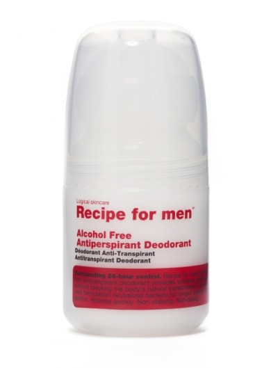 Recipe for men Antiperspirant Deodorant