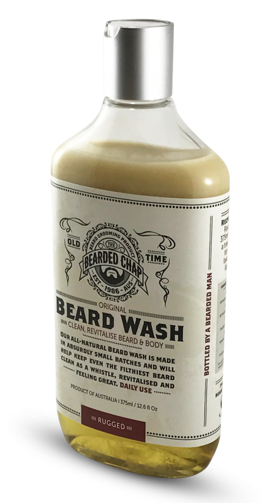 The Bearded Chap Original Beard Wash Rugged