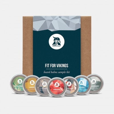 Fit for Vikings Beard Balm Sample Kit