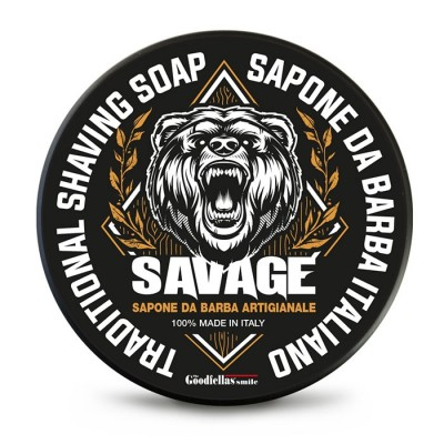 The Goodfellas' Smile Savage Traditional Shaving Soap