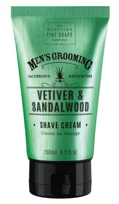 The Scottish Fine Soaps Vetiver & Sandalwood Shave Cream